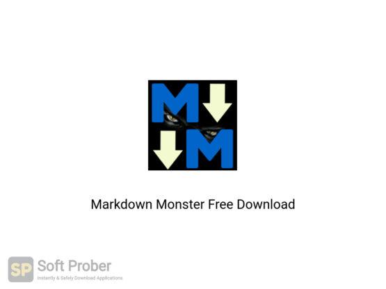 Markdown Monster Free Download-Softprober.com