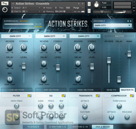 Native Instruments–Action Strikes (KONTAKT, NKI, NKX) Direct Link Download-Softprober.com