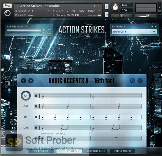 Native Instruments–Action Strikes (KONTAKT, NKI, NKX) Free Download-Softprober.com