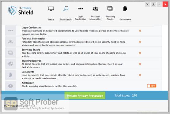 PC Privacy Shield 2020 Free Download-Softprober.com