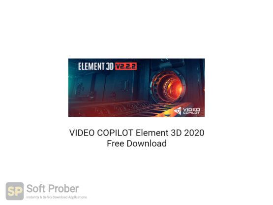 VIDEO COPILOT Element 3D 2020 Free Download-Softprober.com