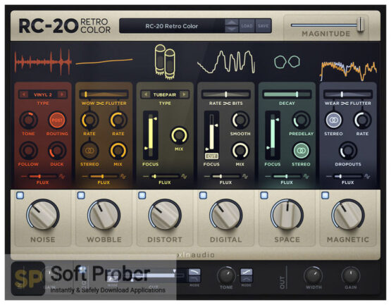 XLN Audio RC 20 Retro Color Direct Link Download-Softprober.com