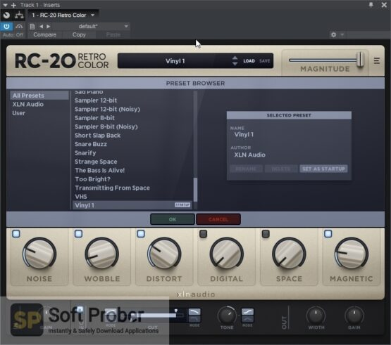XLN Audio RC 20 Retro Color Latest Version Download-Softprober.com