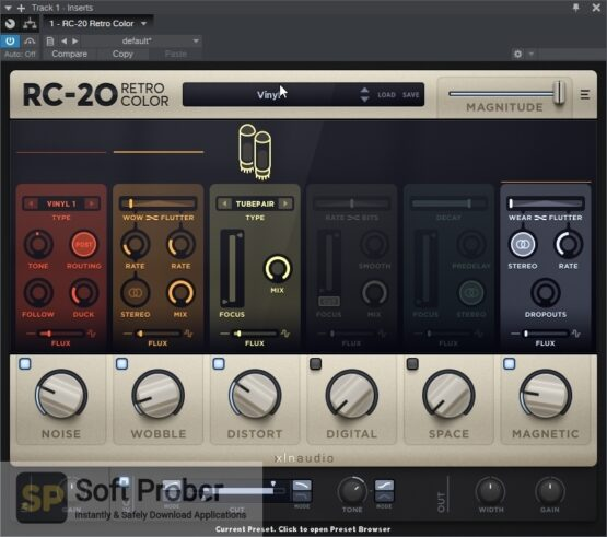 XLN Audio RC 20 Retro Color Offline Installer Download-Softprober.com