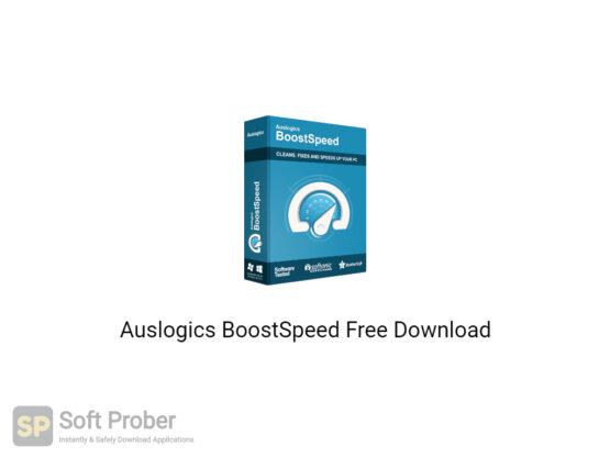Auslogics BoostSpeed 2020 Free Download-Softprober.com