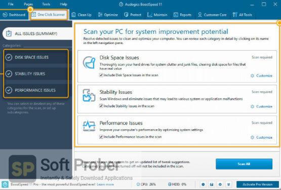 Auslogics BoostSpeed 2020 Latest Version Download-Softprober.com