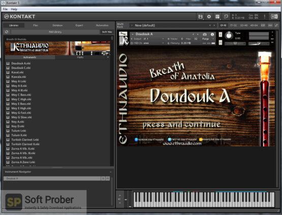 ETHNAUDIO Breath of Anatolia (KONTAKT) Offline Installer Download-Softprober.com
