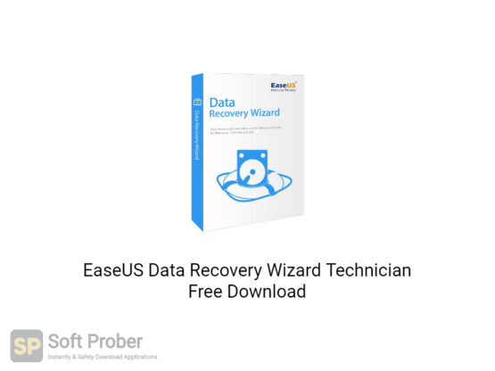 EaseUS Data Recovery Wizard Technician 2020 Offline Installer Download-Softprober.com