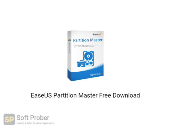 EaseUS Partition Master 2020 Free Download-Softprober.com
