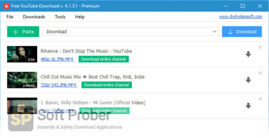 Free YouTube Download Direct Link Download-Softprober.com