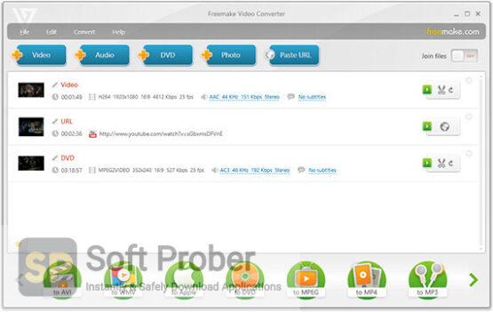 Freemake Video Converter 2020 Direct Link Download-Softprober.com