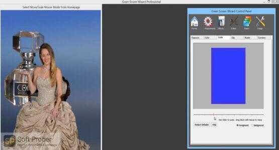 Green Screen Wizard Pro 2020 Offline Installer Download-Softprober.com