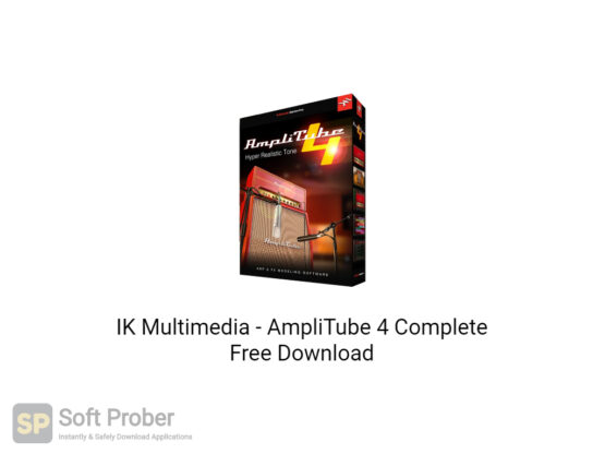 IK Multimedia AmpliTube 4 Complete Free Download-Softprober.com