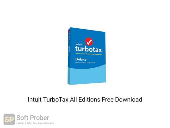 Intuit TurboTax 2020 All Editions Offline Installer Download-Softprober.com