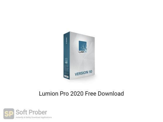 Lumion Pro 2020 Offline Installer Download-Softprober.com