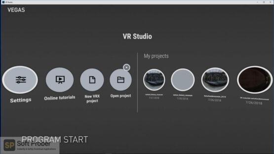 MAGIX VR Studio 2020 Free Download-Softprober.com