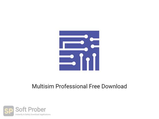 Multisim Professional 2020 Free Download-Softprober.com