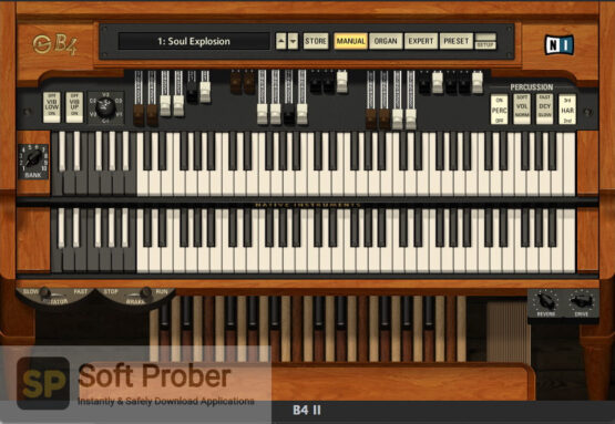 Native Instruments–B4 II VST Free Download-Softprober.com