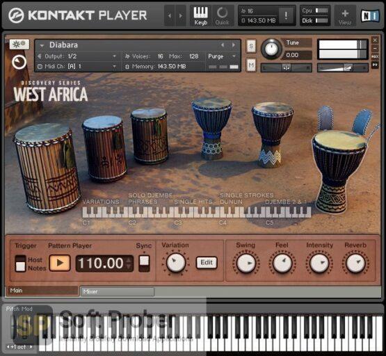 Native Instruments–West Africa (Kontakt) Direct Link Download-Softprober.com