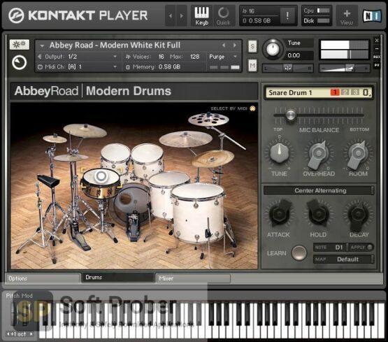Native Instruments Abbey Road Modern Drums Offline Installer Download-Softprober.com