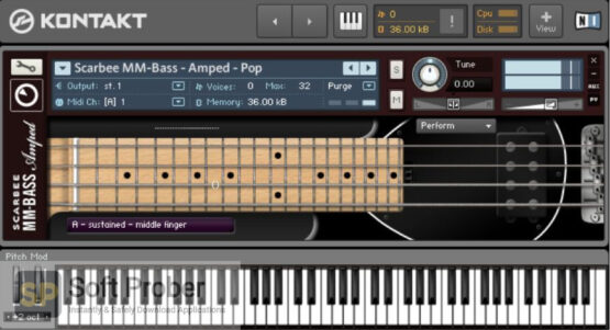 Native Instruments SCARBEE MM BASS AMPED Direct Link Download-Softprober.com