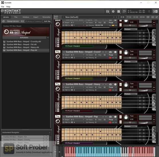 Native Instruments SCARBEE MM BASS AMPED Offline Installer Download-Softprober.com