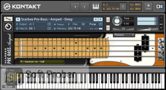 Native Instruments Scarbee Pre Bass Latest Version Download-Softprober.com