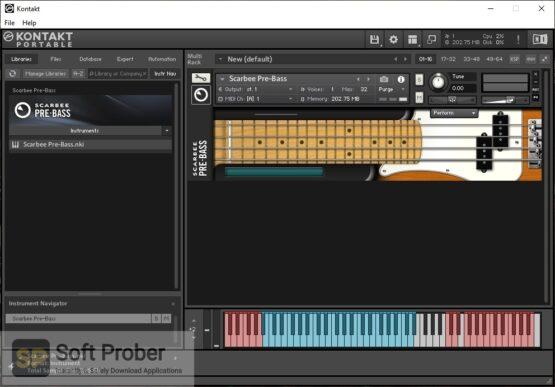 Native Instruments Scarbee Pre Bass Offline Installer Download-Softprober.com