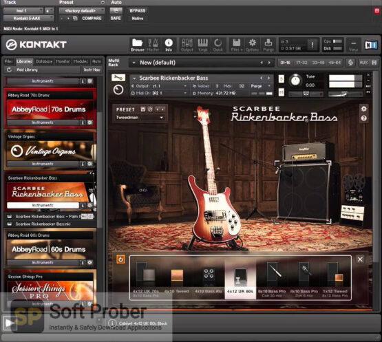 Native Instruments Scarbee Rickenbacker Bass Direct Link Download-Softprober.com