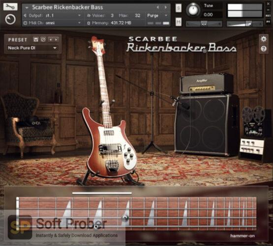 Native Instruments Scarbee Rickenbacker Bass Free Download-Softprober.com