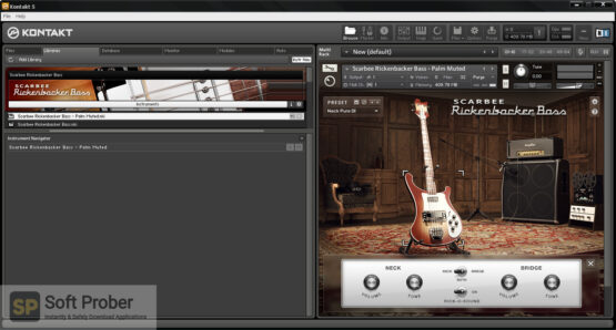 Native Instruments Scarbee Rickenbacker Bass Latest Version Download-Softprober.com