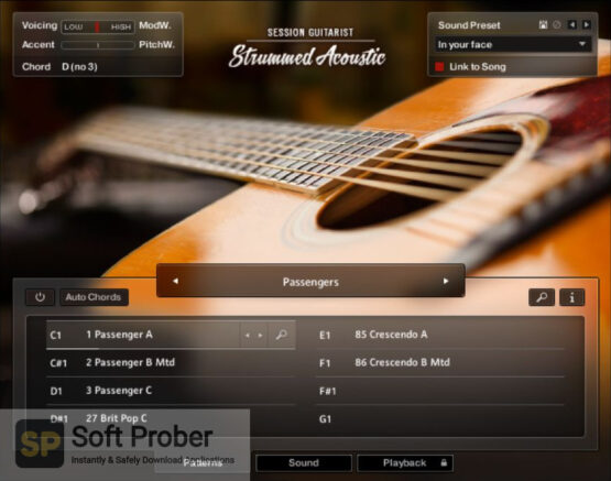 Native Instruments Session Guitarist Strummed Acoustic (KONTAKT) Direct Link Download-Softprober.com