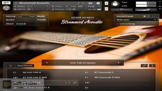 Native Instruments Session Guitarist Strummed Acoustic (KONTAKT) Latest Version Download-Softprober.com