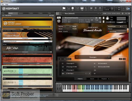 Native Instruments Session Guitarist Strummed Acoustic (KONTAKT) Offline Installer Download-Softprober.com