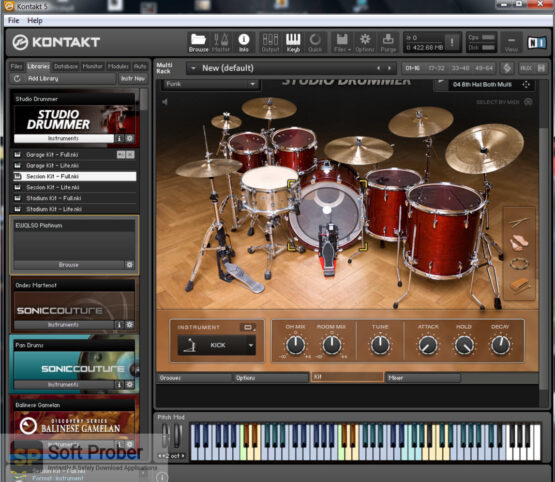 Native Instruments Studio Drummer (KONTAKT) Direct Link Download-Softprober.com