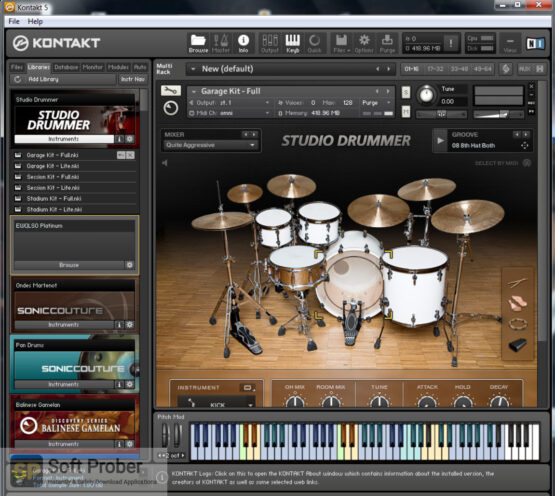 Native Instruments Studio Drummer (KONTAKT) Free Download-Softprober.com