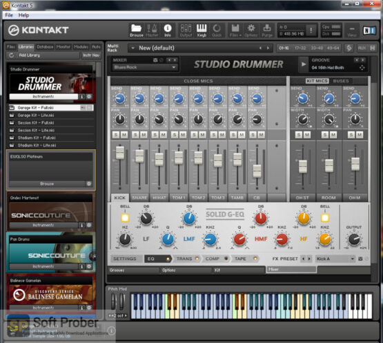 Native Instruments Studio Drummer (KONTAKT) Latest Version Download-Softprober.com