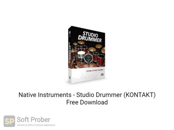 Native Instruments Studio Drummer (KONTAKT) Offline Installer Download-Softprober.com