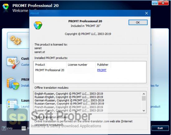 PROMT Expert 2020 Offline Installer Download-Softprober.com