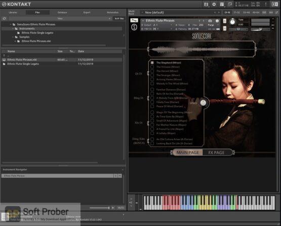 Sonuscore Ethnic Flute Phrases Offline Installer Download-Softprober.com