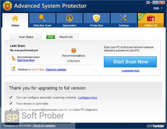 Systweak Advanced System Protector 2020 Direct Link Download-Softprober.com