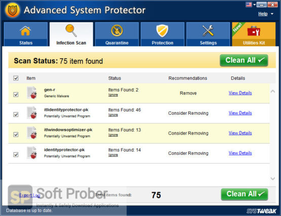 Systweak Advanced System Protector 2020 Offline Installer Download-Softprober.com