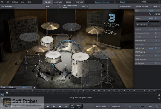 Toontrack Superior Drummer Latest Version Download-Softprober.com