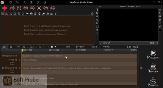 YouTube Movie Maker Platinum 2020 Direct Link Download-Softprober.com