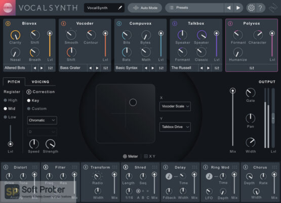 iZotope VocalSynth 2 Direct Link Download-Softprober.com