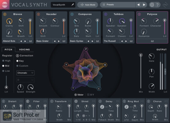 iZotope VocalSynth 2 Free Download-Softprober.com