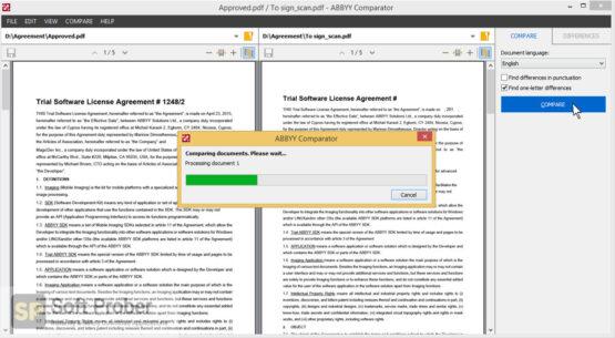ABBYY Comparator 2020 Latest Version Download-Softprober.com