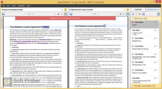 ABBYY Comparator 2020 Offline Installer Download-Softprober.com