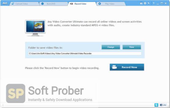 Any Video Converter Ultimate 2020 Offline Installer Download-Softprober.com