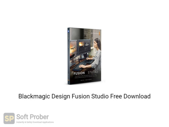 Blackmagic Design Fusion Studio 2020 Free Download Softprober.com
